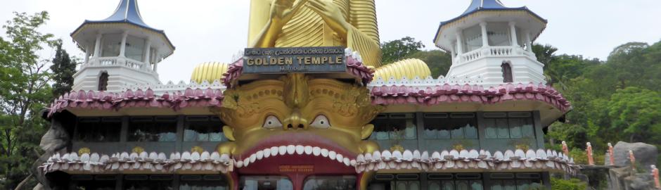 Dambulla Golden Tempel