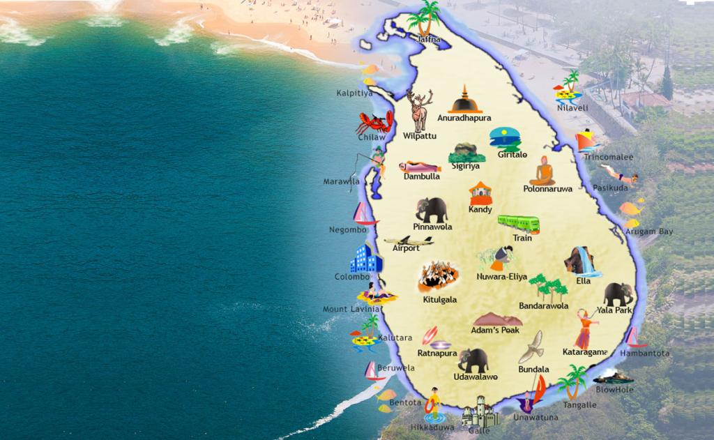 Urlaubsorte und Strände